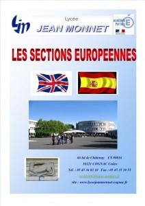 Les sections européennes