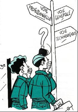 choisir son orientation au lycée Jean Monnet